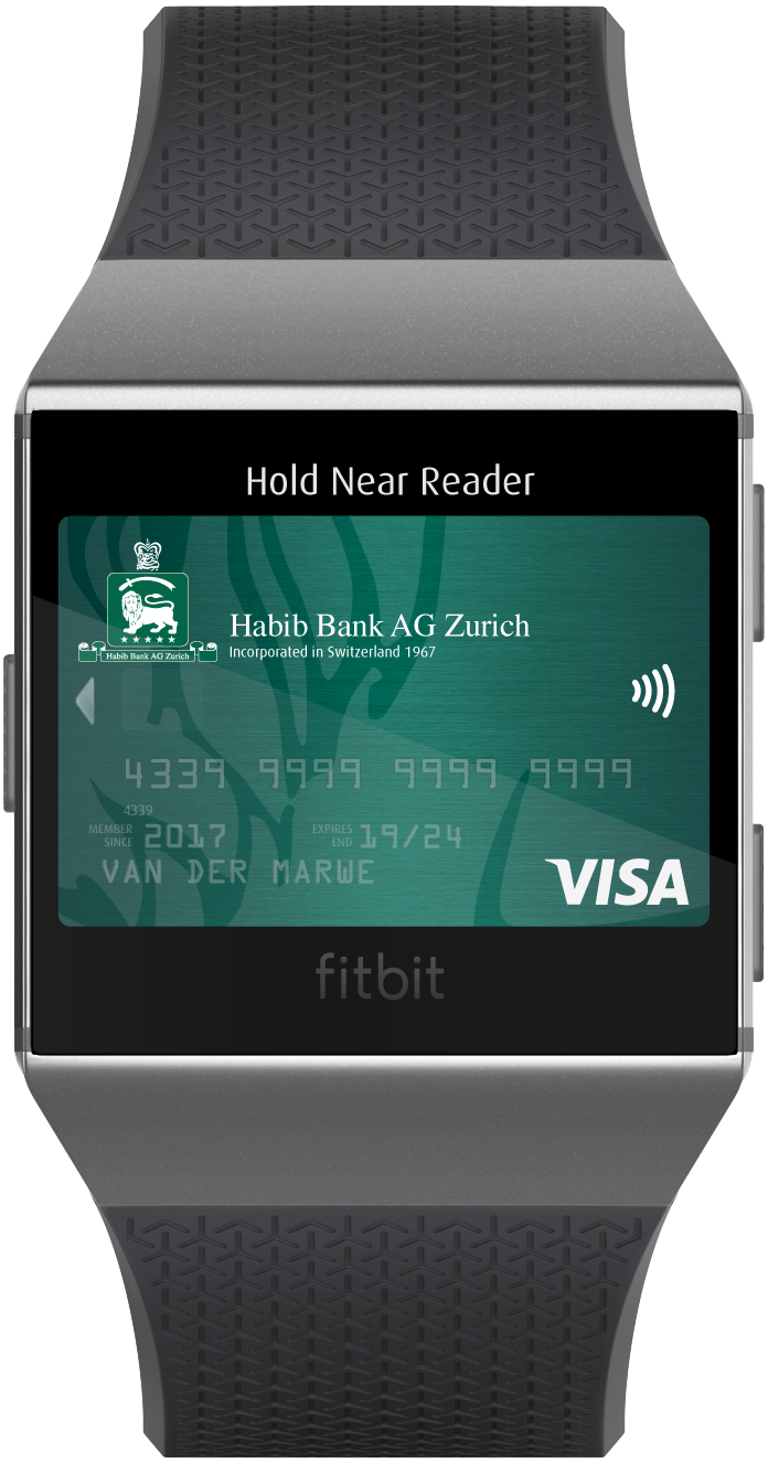 HBZ Card - Fitbit Pay